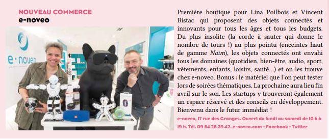 e.noveo, nouveau commerce à Besançon