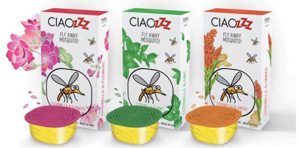 Les capsules anti-moustiques pour le diffuseur de parfum George chez e.noveo Besançon